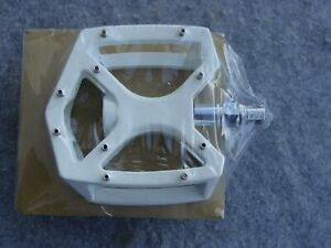 Plattform Pedal 1/2 Inches Inch BMX Pedals With Interchangeable Pins White