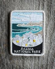Official Acadia National Park Souvenir Patch Traveler Series Iron-on Maine