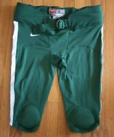 New Nike Stock Speed Mach Football Pant Men's Large Green White Padded