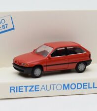 Rietze H0 10470 Opel Astra Sportcoupe in rot, OVP, 1:87, G2/9