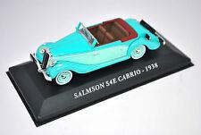 Voiture modèle réduit collection 1/43ème Salmson S4E Cabrio de 1938