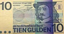 10 Gulden 1968, KM 91 b, Frans Hals, kassenfrisch Pays Bas Nederland