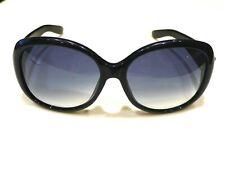 YSL YVES SAINT LAURENT Black 6355 F/S Blue Gradient Lenses Sunglasses ITALY