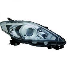 Faro delantero Derecho MAZDA 5 08-10 H7+HB3 negro, con ciclomotor
