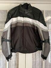 Mens Xelement Mesh Motorcycle Jacket Size XL