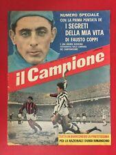 IL CAMPIONE n.2/1960 FAUSTO COPPI LA VITA FOTO GOL CALCIO A B C Rivista Magazine