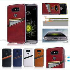 Matte Mobile Phone Wallet Cases for LG G4