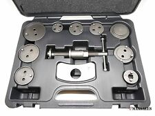 11Pc Disc Brake Caliper Kit Wind Back Car Truck Compressor Auto Tool Kit Set