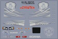 Decals für Truckdekor für Scania CS (silber) (6,8 x 4,6 cm)