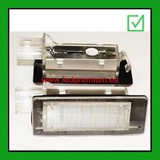 ledpremium.es 2x LED NUMBER PLATE LIGHTS DACIA LOGAN MCV II 2 CANBUS