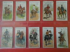 1905  RIDERS OF THE WORLD horses cowboys polo set  50 cards Tobacco Cigarette