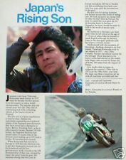 Old TAKAZUMI KATAYAMA MOTORCYCLE Racing Article/Photo's