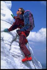 599047 Europea Freestyle campeón de esquí Sewald Escalada En Hielo A4 Foto Impresión