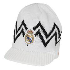 Real Madrid FC Beanie Visor White New 2014-2015 Winter Skull CAP [Sport]