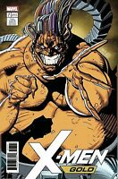 X-MEN GOLD #7 JIM LEE MOJO X-MEN CARD VARIANT MARVEL COMICS