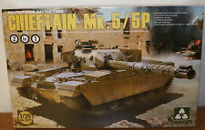 TAKOM Modern Chieftain Mk.5/5P British Main Battle Tank Plastic model kit 1/35