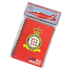 RAF Red Arrows notebook small travel size Royal Air Forces Association