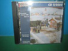 EISENBAHN JOURNAL ~ CD-ROM    2 / 2002 ONLY ~ GERMAN TEXT > VGC SEE PIC'S