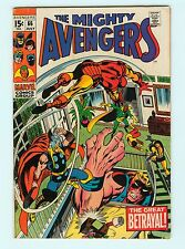 The Avengers #66 7.0 FN/VF Silver Age Marvel Comic Book 1st Adamantium Ultron