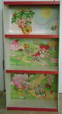 Vintage 1980's Original RARE Strawberry Shortcake Bookshelf/Display Shelf/Case