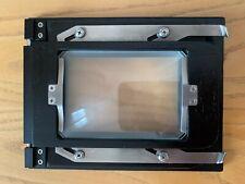 Ebony camera 4x5 to 6x9 reducing back