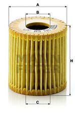 Ölfilter MANN-FILTER HU 68 x