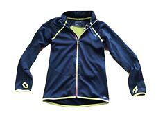 Salomon Men's Running Cycling Windbreaker Jacket Vest S Black Detach Sleeves