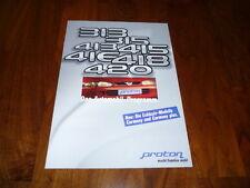 Proton Gesamtprospekt 01/1997 Proton 313 / 315 / 413 / 415 / 416 / 418 / 420
