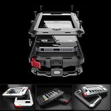 Waterproof Shockproof Gorilla Glass Metal Case Cover for iPhone 5S 5C 4S 6S Plus