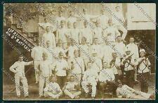 Reggio Emilia città Militari Foto cartolina QK0232