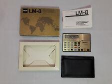 Triumph Calculator Vintage TRIUMPH LM-8 Electronic Pocket Calculator