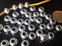 De 35 a 525 Bolas Zamak (A.4,1mm) cuentas abalorios (B45-15) bisuteria bola