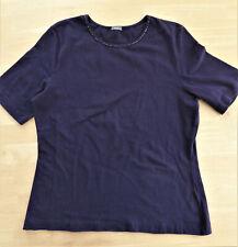 DI BARI Stretch Shirt Gr. L / 42-44 lila