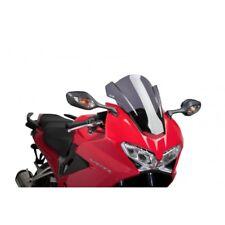 Bike Windsreen Racing Airflow Double Bubble Honda VFR 800 2014-2017 Light Tint