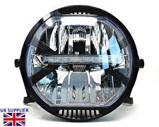"HOMOLOGATED LED Motorcycle 7"" Headlight & Brackets Cafe Racer Streetfighter"