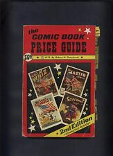 OVERSTREET COMIC BOOK PRICE GUIDE 2nd EDITION - RARE 1972
