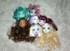 Monster High Bundle Of 7 Heads For Ooak Project Or For Parts (5)