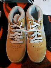 Timberlands Cream Color Brown Men Size 8m Hiking  Boot Shoe
