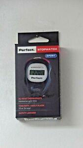 NEWPerfect Stopwatch Sport Digital Time Date Alarms