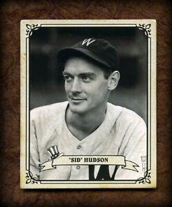 Banty Red 1942 Play Ball #17 SID HUDSON, Washington Senators