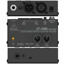 Behringer - MA400 - MICROMON  Compact Monitor Headphone Stereo Amplifier