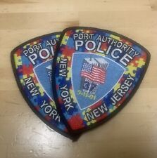 2021 Autism Awareness Fundraiser Patches Port Authority Police Nynj.