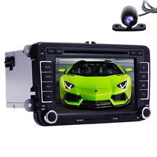 VW Jetta Passat Tiguan Car Stereo GPS DVD Player Radio BT Canbus +Reverse Camera