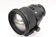 Sigma Art 105mm F1.4 DG HSM BOKEH-MASTER A018 for Nikon F Full Size New in Box