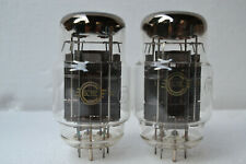 Matched pair 6c18c 6s18s Svetlana TUBES TESTED NUOVO NEW NOS (6s33s-v 6c33c-b)