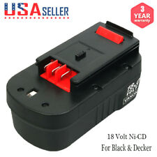 New 18 Volt for Black & Decker HPB18 244760-00 18V Slide Battery FSB18 A1718 A18