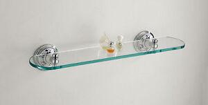 Shelf Bathroom Ceramics Decorated Brass Chrome Vietri Made IN Italy