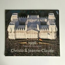 More details for rare signed christo & jeanne-claude calender taschen 1996