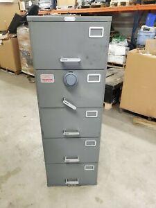 Safe Heavy Duty Hamilton 5 Drawer GSA Container Kaba Mas X-09 Combination Lock
