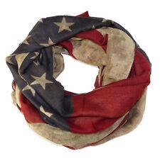 Longschal Loop Tuch Stola USA United States Flagge Vintage Redneck Union Jack